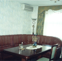Half luxury rooms in Dniprovskiy Hotel
