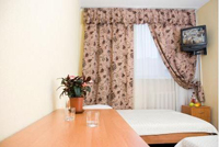 Twin standart room in «Kozatsky» Hotel