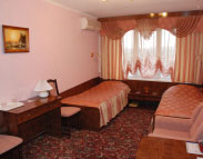 Single comfort room in «Mir» Hotel