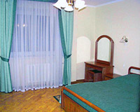 Single room category А in Obolon Hotel