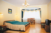 Single room category B in Obolon Hotel
