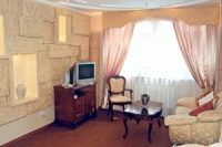 Luxe rooms in Hotel «Perlina Dnipra»