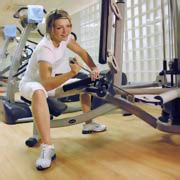 Fitness club in Radisson Blu Hotel