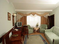 Senior suite room in «Salute» Hotel
