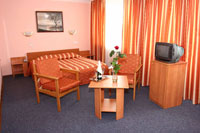 Double Superior room in Slavutich hotel