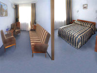 Semi-Suite Superior room in Slavutich hotel